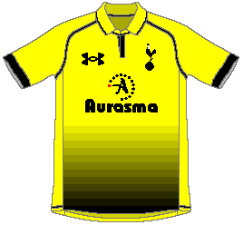 Tottenham Hotspur 2012-13 Under Armour Yellow Fourth (4th) Kit Competition (closed)