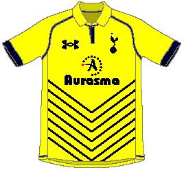 Spurs Under Armour 4th Kit Version 2