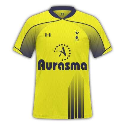 Spurs yellow