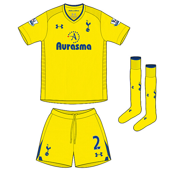 Spurs 4th kit