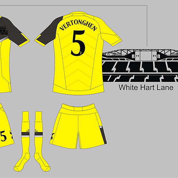 Tottenham Hotspur Under Armour Fourth ver 01