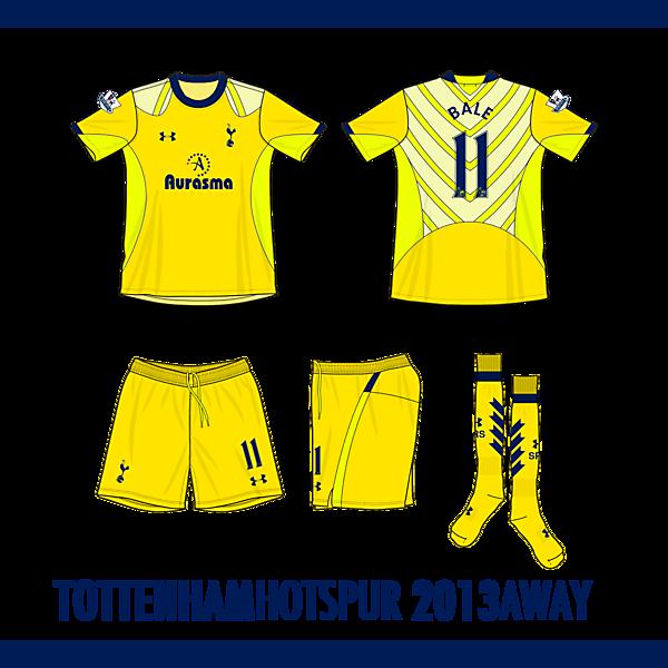 Tottenham Hotspur 4th Kit 2013