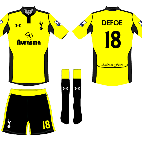 Spurs 4th Kit Design 2 - Wighty 93