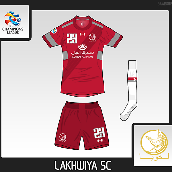 [Quaterfinals AFC CL Competition] Lakhwiya SC