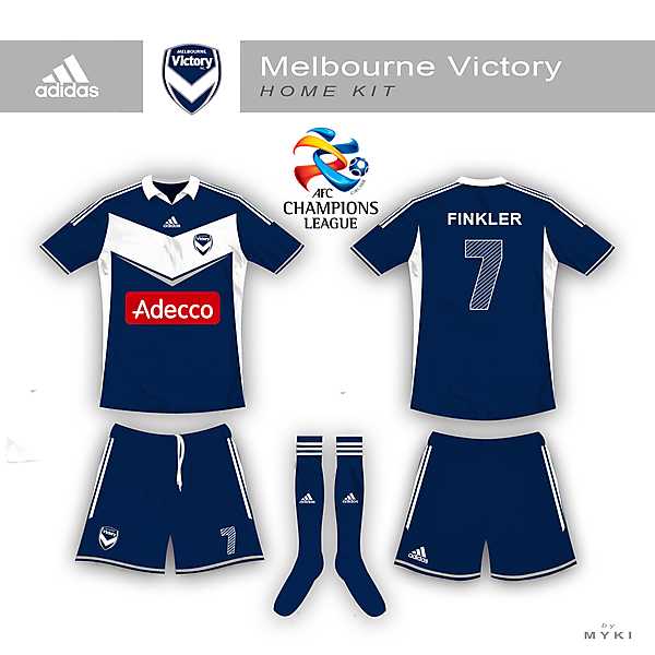 Melbourne Victory ACL Home Jersey