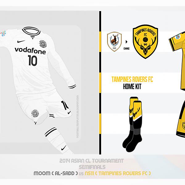 [VOTING] Al-Sadd vs Tampines Rovers FC