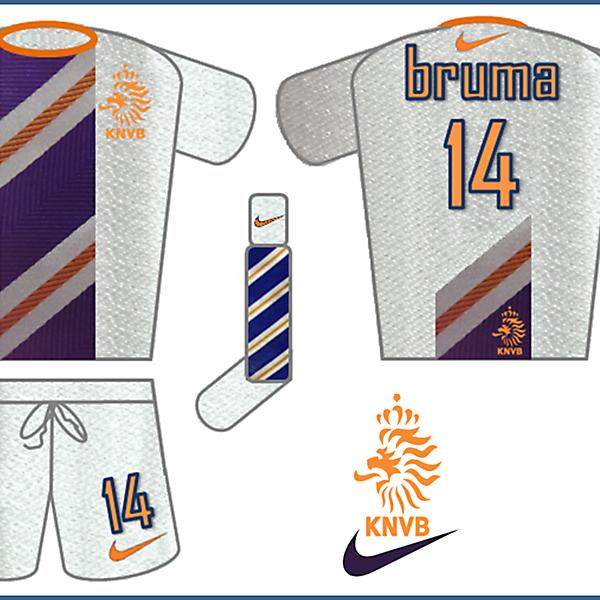 Netherlands - Nike Away Kit