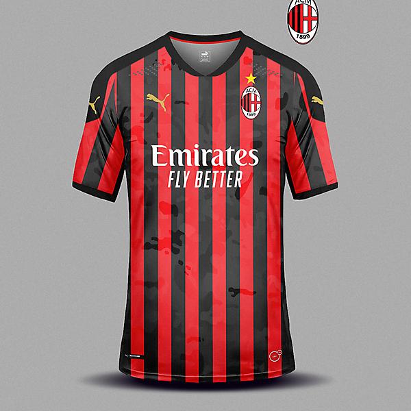 AC Milan home camo