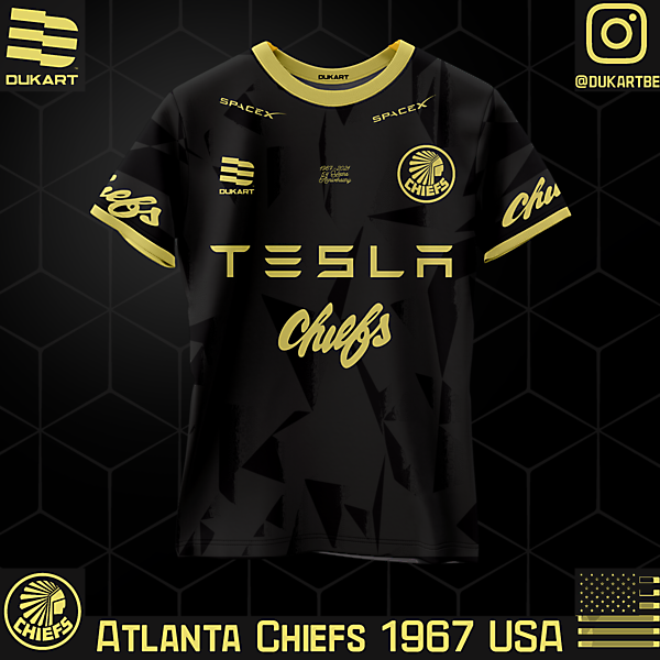 Atlanta Chiefs Modern Away