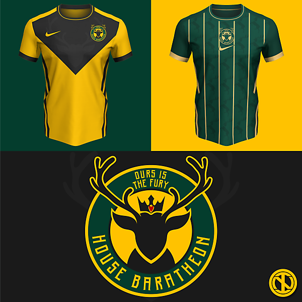 House Baratheon | Home and Away Kits