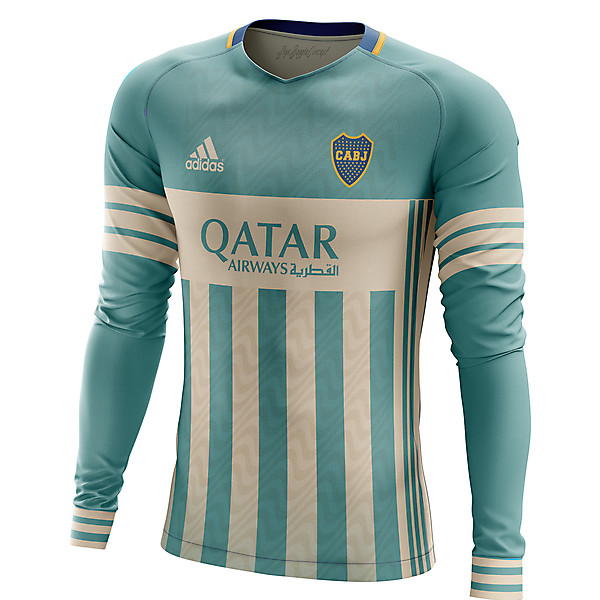 Boca Juniors Goalkeeper concept