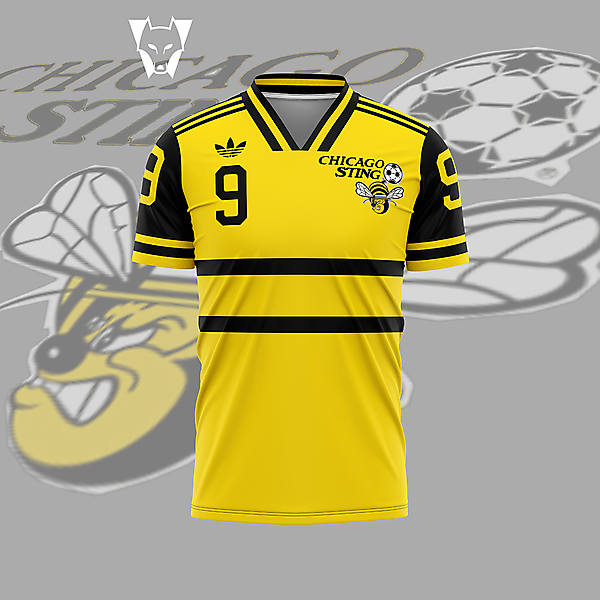 Chicago Sting - home shirt