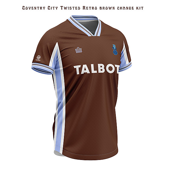Coventry City-twisted retro