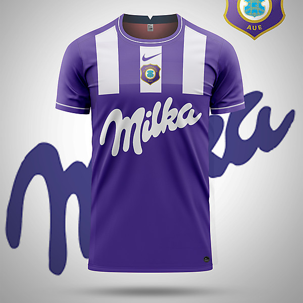FC Erzgebirge Aue-Milka Concept