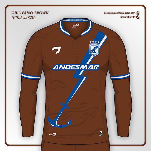 Guillermo Brown | Third jersey