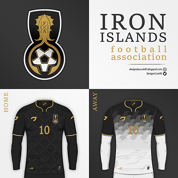 Iron Islands F.A. | Crest and Jerseys