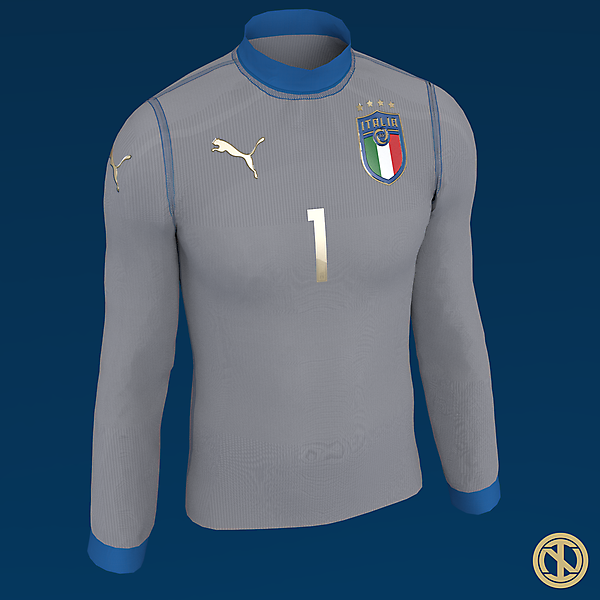 Italy | Goalkeeper Kit Concept