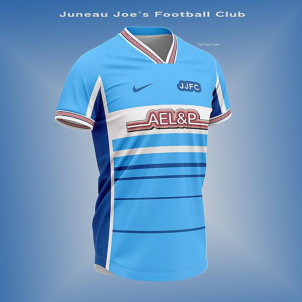 Juneau Joe's Football Team-concept