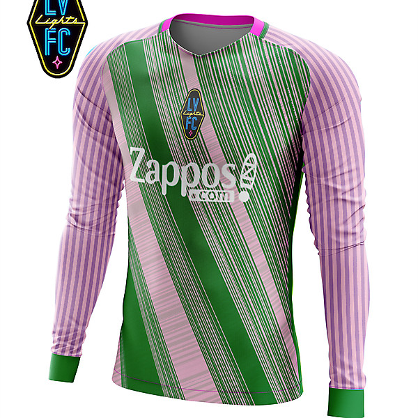 Las Vegas Lights Goalkeeper concept