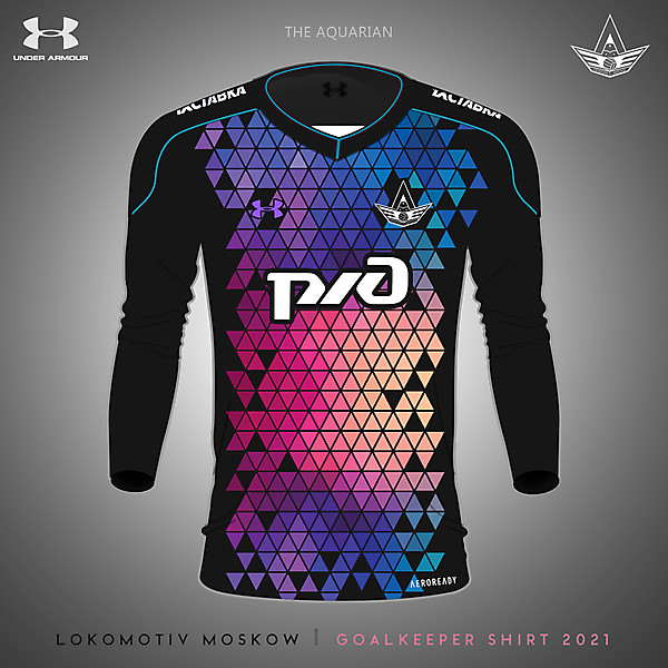 Lokomotiv Moskow Goalkeeper Kit