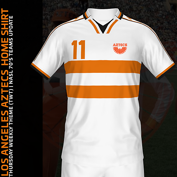 Los Angeles Aztecs Home Shirt