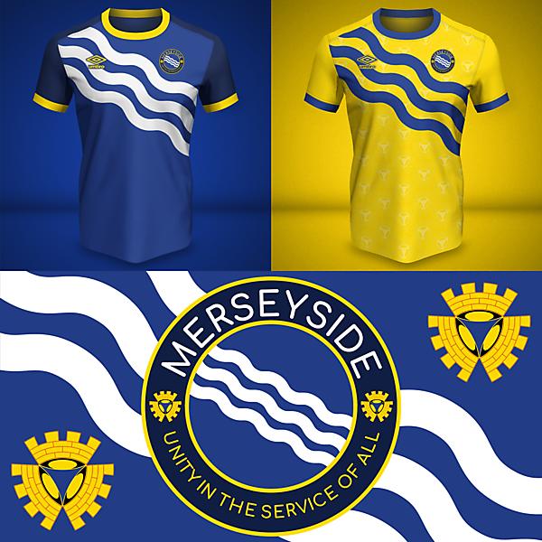 Merseyside | Home and Away Kits