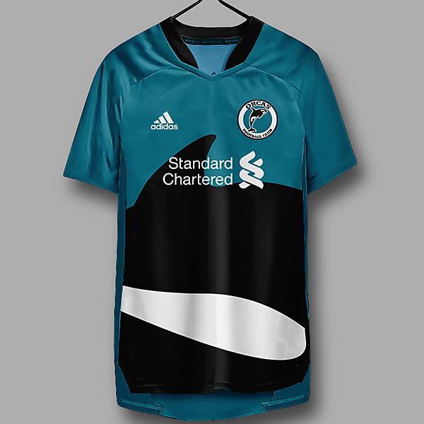 Orcas FC - home kit