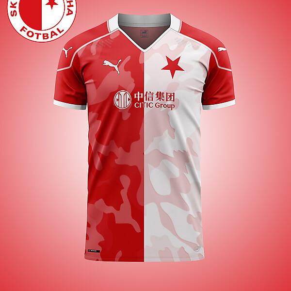 Slavia Prague Camo concept