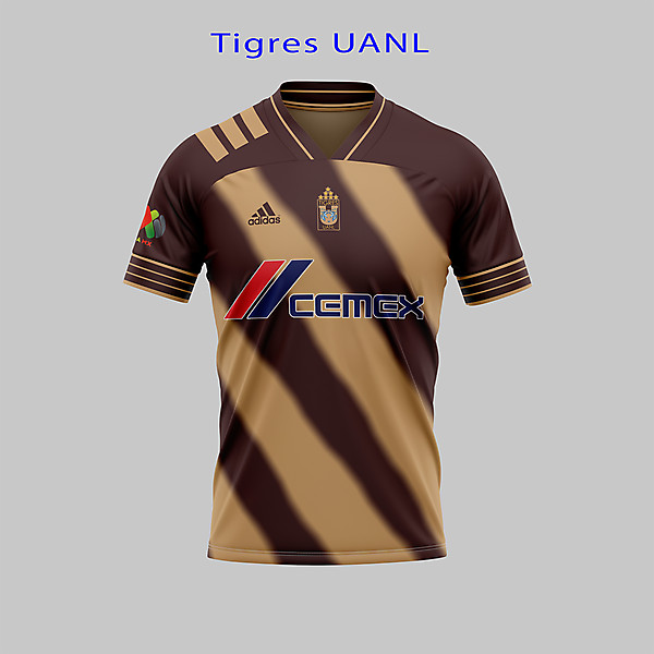 Tigres UANL-BROWN CHANGE CONCEPT
