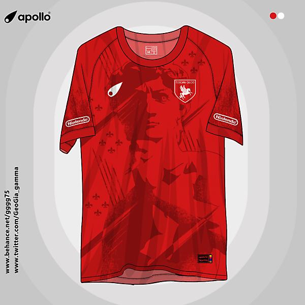 toscana calcio home jersey
