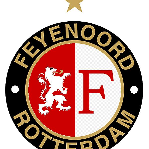 Updated Feyenoord Crest