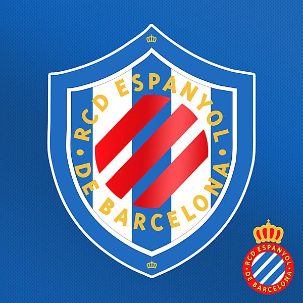 RCD Espanyol Crest Redesign