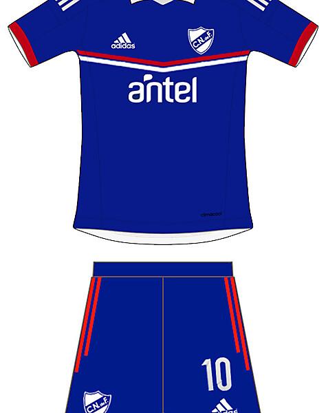 Away Club Nacional de Futbol Adidas