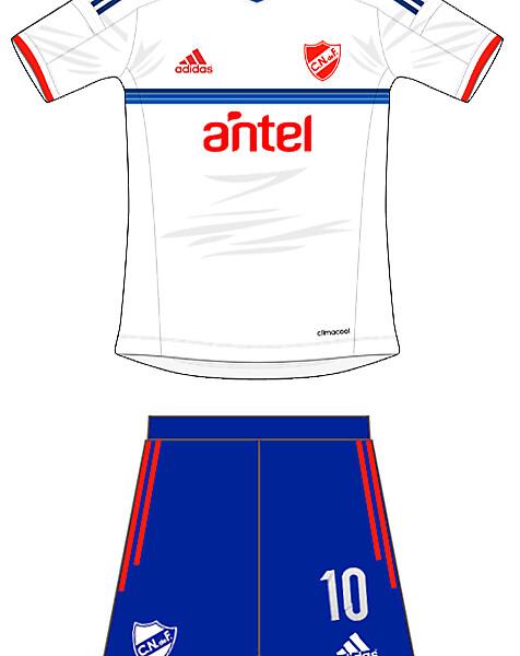 Home Kit Club Nacional de Futbol Adidas
