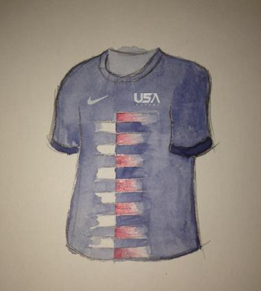 USA Futsal Away Kit