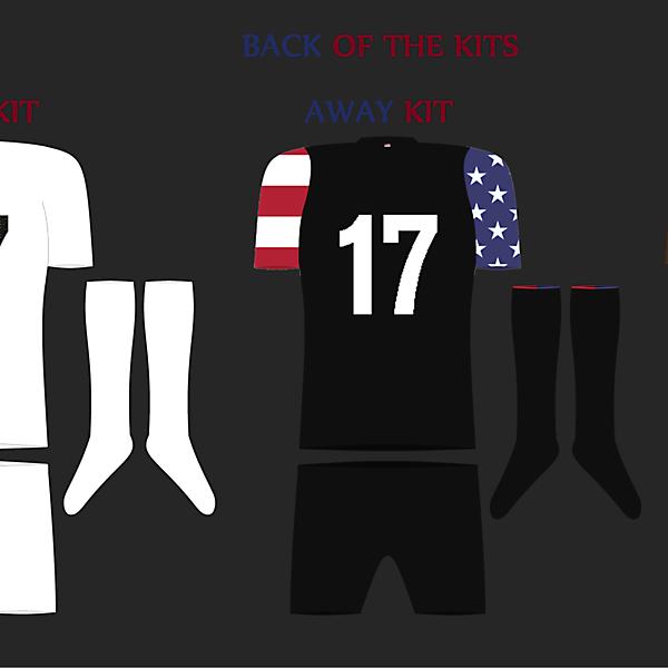 USA Futsal Back View