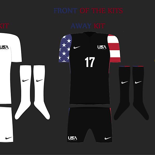 USA Futsal Front View