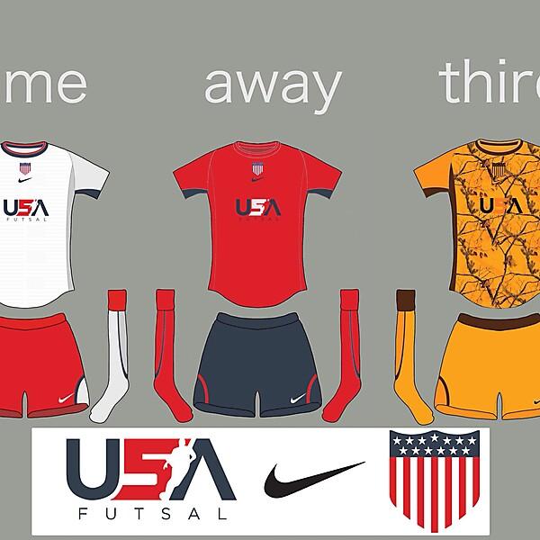 USA futsal kits