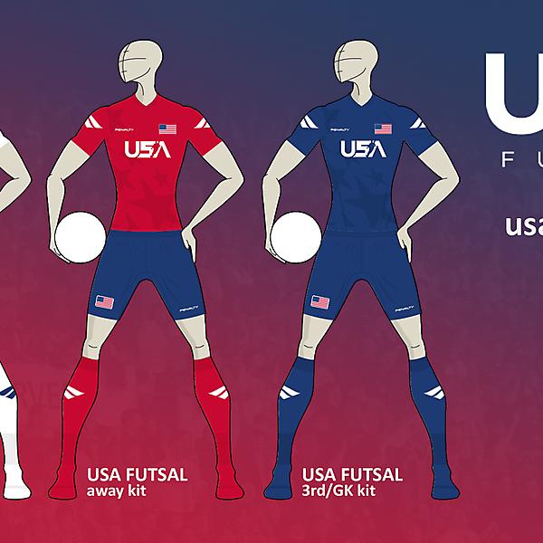 USA Futsal kits *PENALTY*