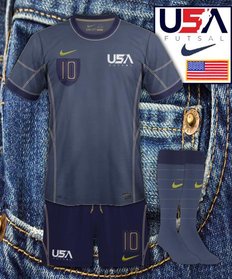 USA futsal Third Kit