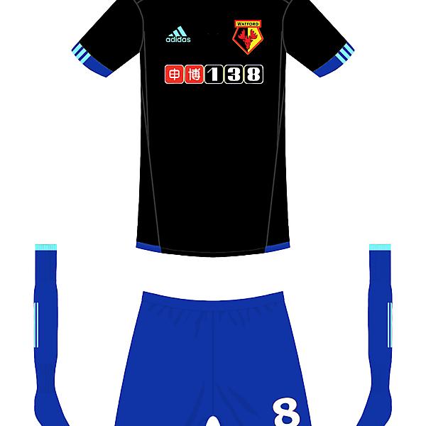 Watford Adidas away kit