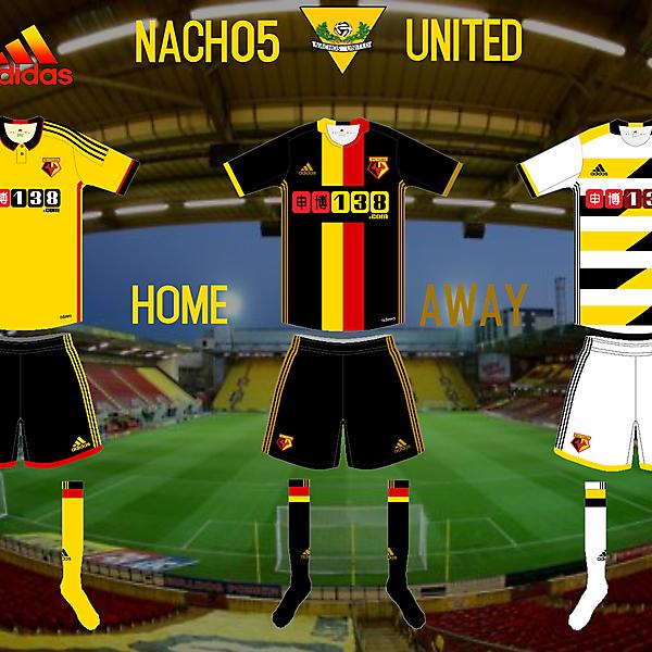 Watford Adidas Kits