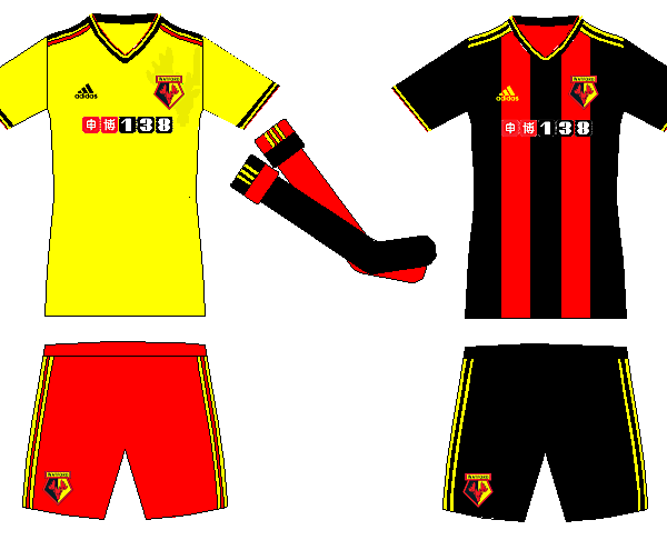 Watford Home and Away