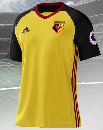 Watford home shirt 2017-2018