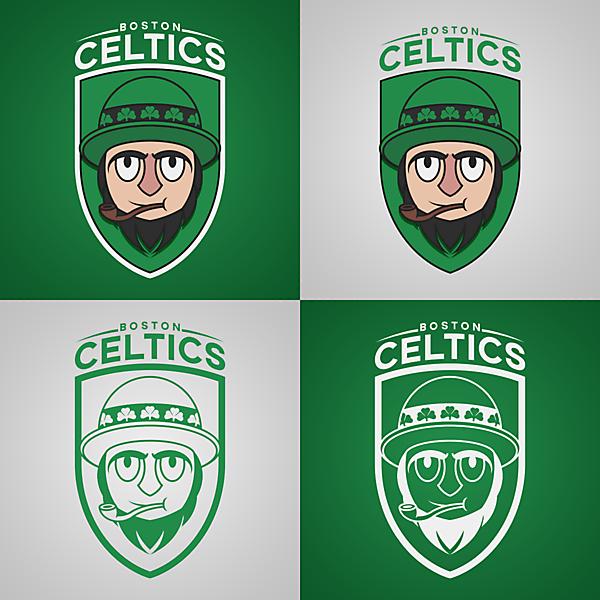 Boston Celtics | Crest Redesign