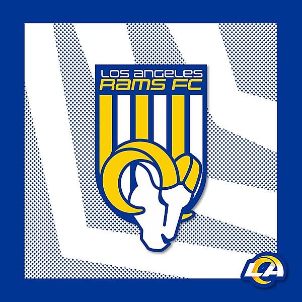 Rams Crest - Football
