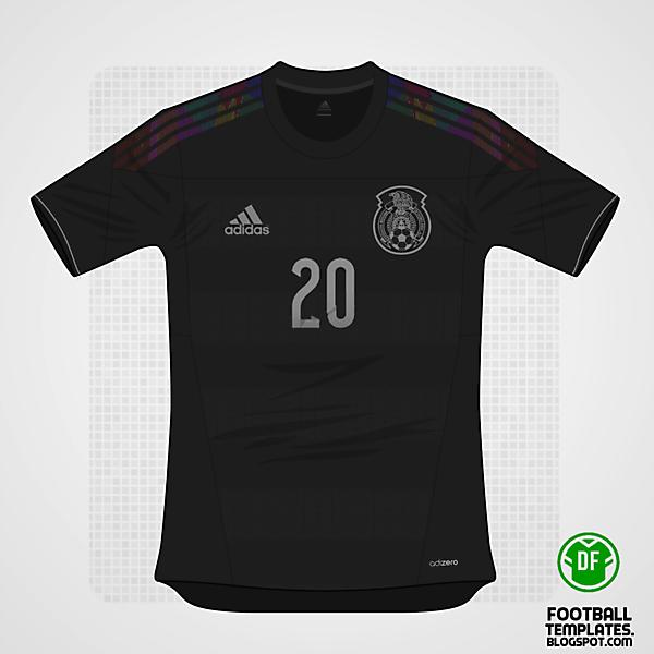 2014 Adidas Mexico Away Kit