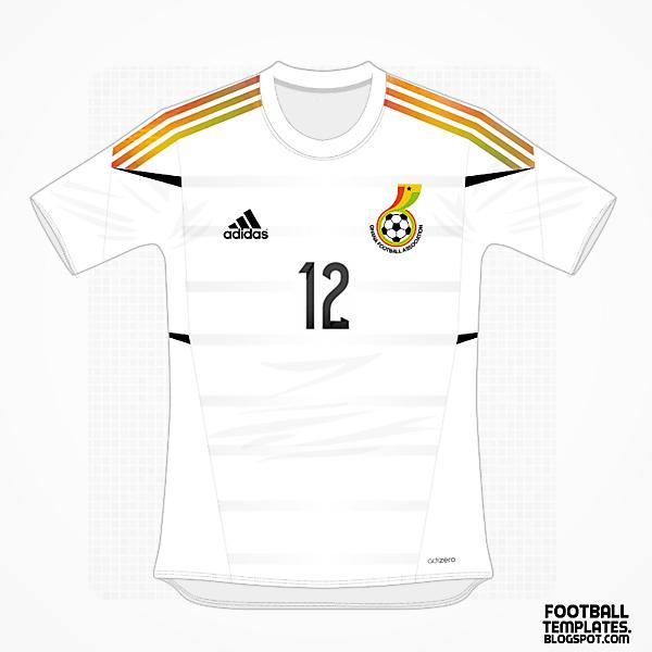 2014 Ghana Kit : Adidas ver.