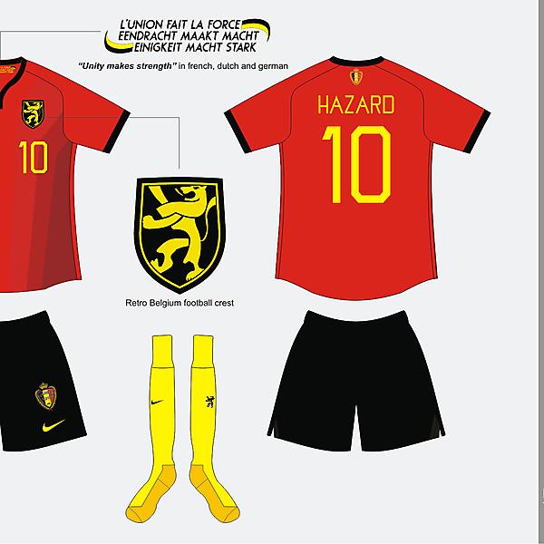 Belgium Home kit version 01