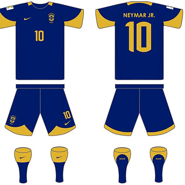 Brazil 2014 away kit